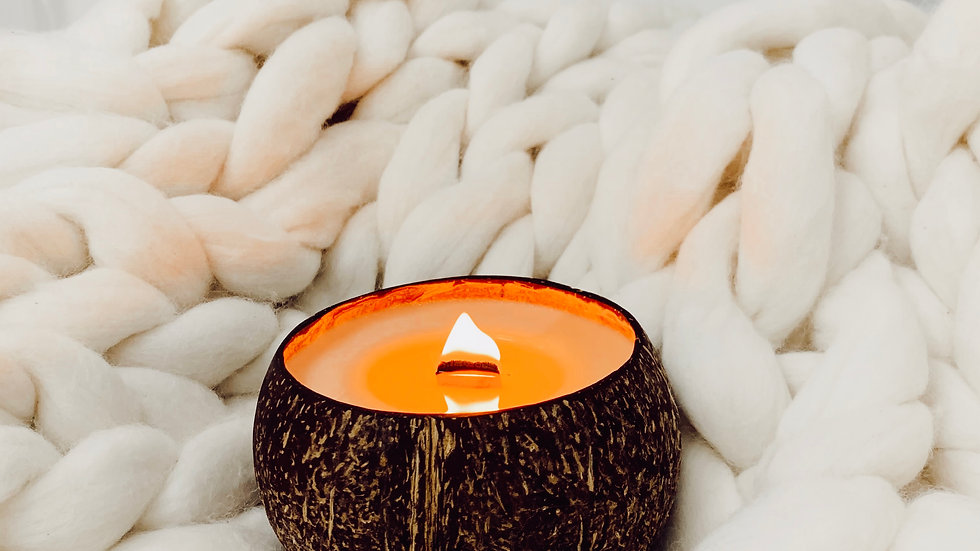 •COCONUT CANDLE•