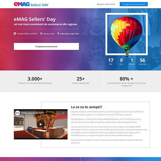 Virtual Event Website
