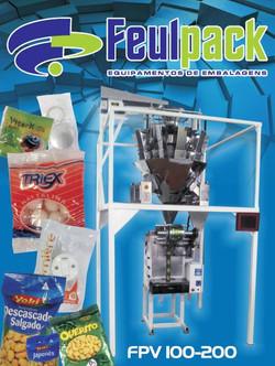 Embaladora Flow-pack vertical