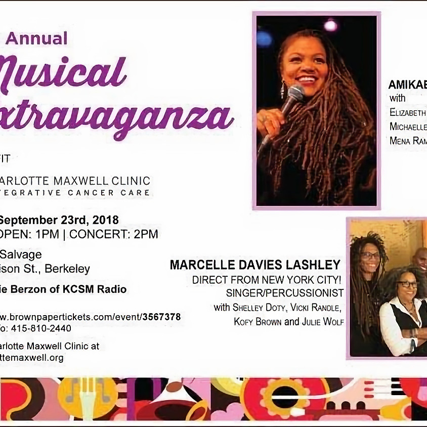 6th Annual Musical Extravaganza to Benefit the Charlotte Maxwell Clinic