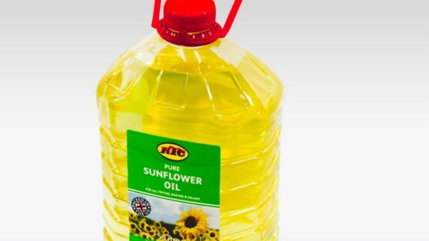 Sunflower oil 5 litres