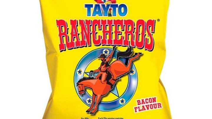 Tayto Rancheros Bacon 105g