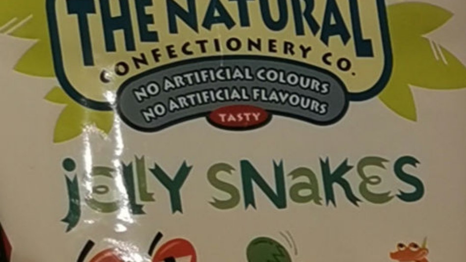 The Natural Jelly Snakes bag