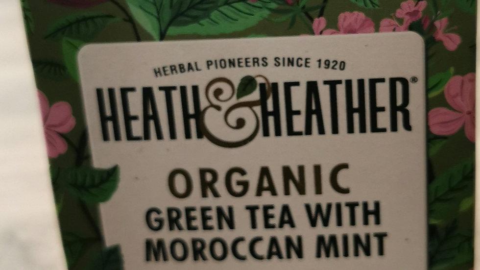 Organic Green Tea with Moroccan Mint