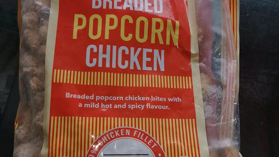 Breaded Popcorn Chicken