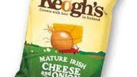 Keogh Cheese & Onion Crisps
