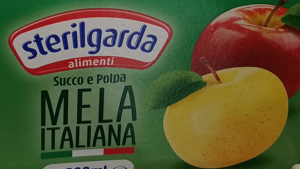 Italian apple juice 3 for 200ml