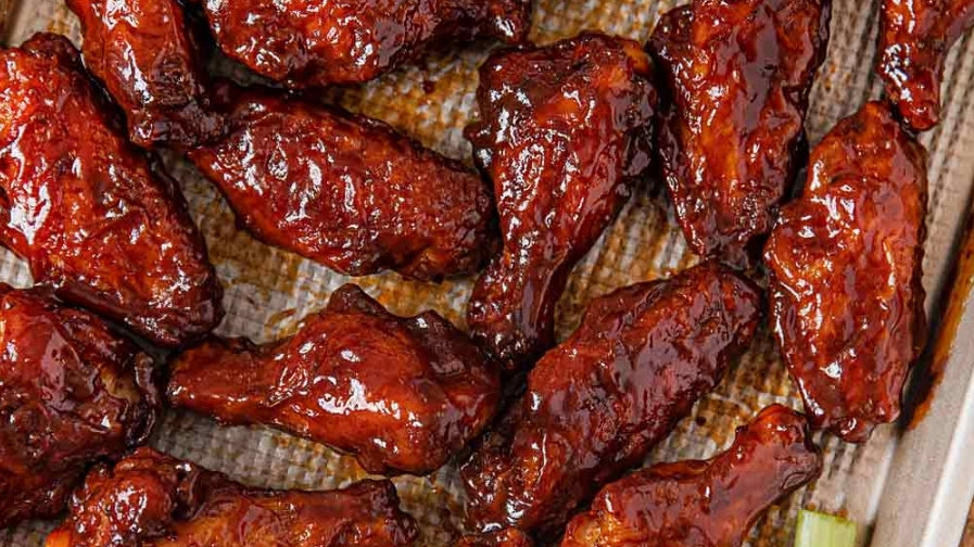 Barbeque Chicken Wings Pre oder