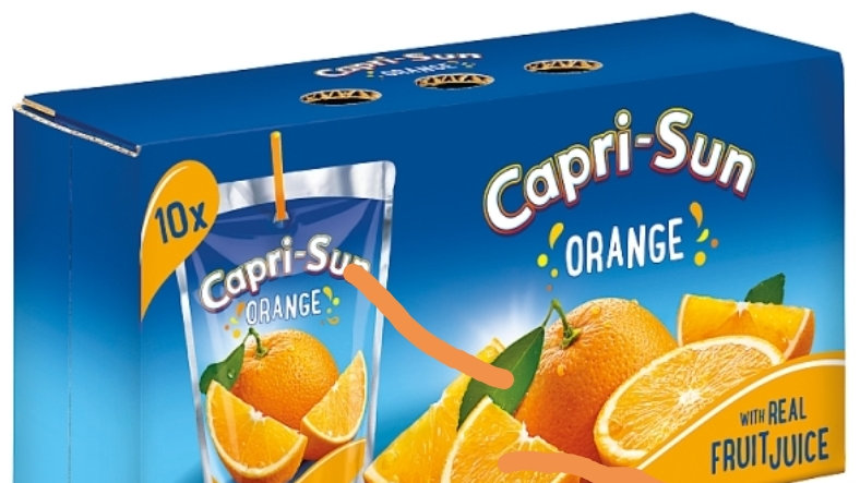 Capri Sun Orange 10 pack