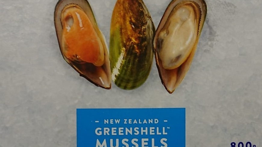 Mussels Blanched on the half shell