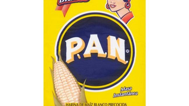 Harina Pan Blanca - White Corn Flour 1Kg
