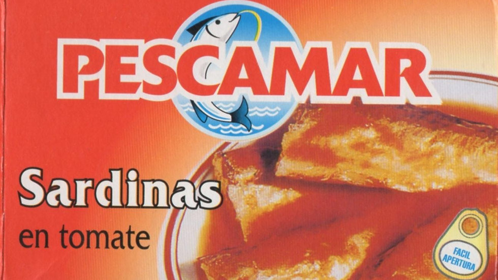 Pescamar Sardinas en tomate - Sardines in tomato