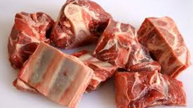 Smoked and non Smoked Frozen Goat Meat Amber Ring 1Kg