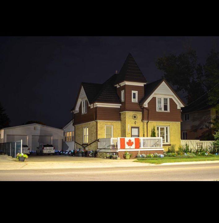 My Home at Night