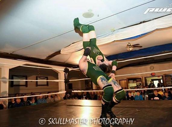 Wrestling the Cadet (My Son)