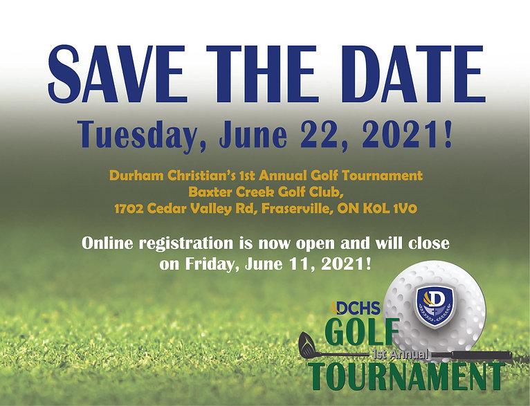 DCHS Golf Tournament savethedate - for m