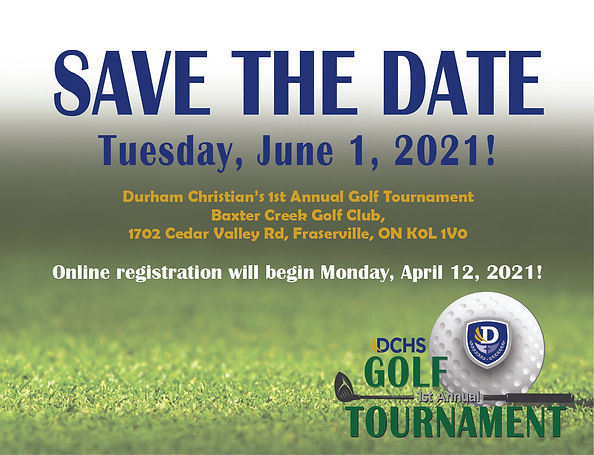 DCHS Golf Tournament savethedate - for m