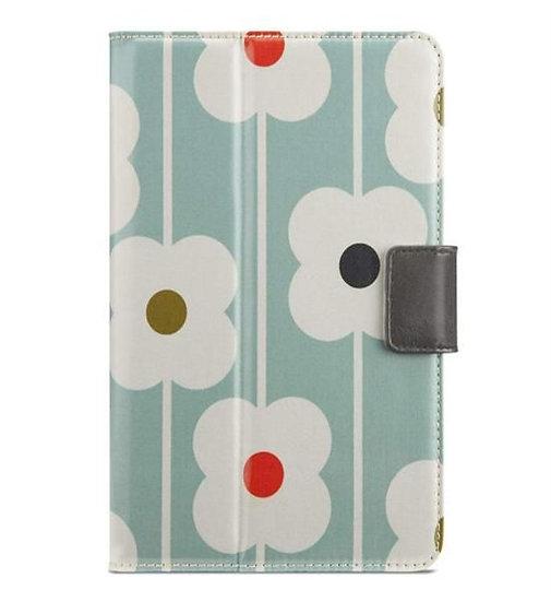 Belkin Orla Kiely Cover For Ipad Mini In Duck Egg/Dark Gray