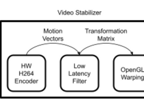 Video Stabilization for Embedded Systems