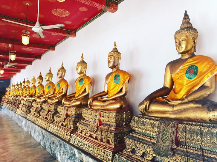 Tailândia: sobre prosperidade e a sabedoria oriental da Ásia em Bangkok