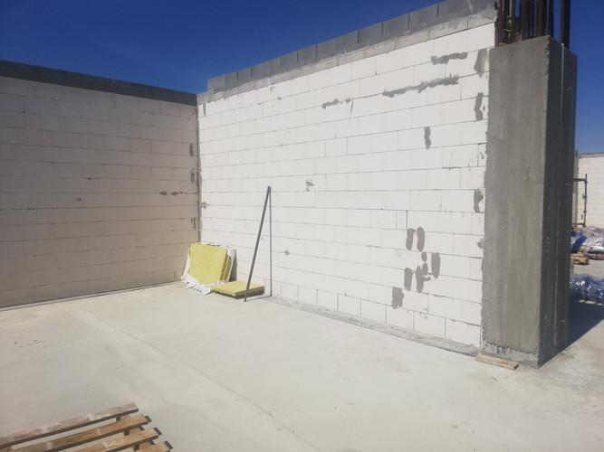 Ściany parteru Budynku K
