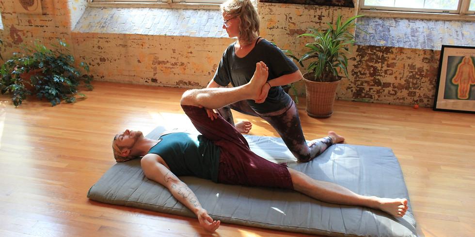 Restorative Yoga with Thai Massage Assists