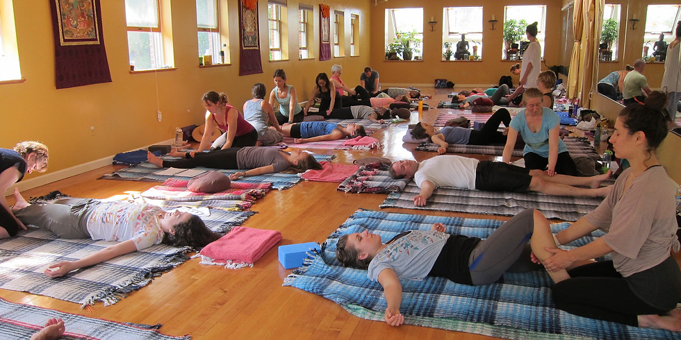Thai Yoga Massage Level 1 Certification Training