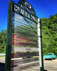Beaver Mill Sign 1