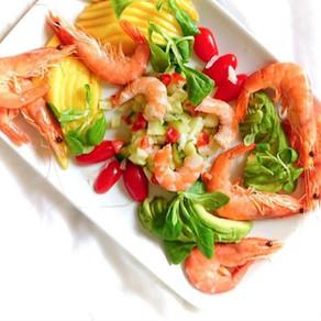 Recette Minceur Salade de la Mer 🦐