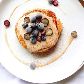 Recette Minceur Pancake aux Myrtilles 🥞