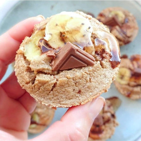Recette Minceur Muffins Banane Chocolat 🍌