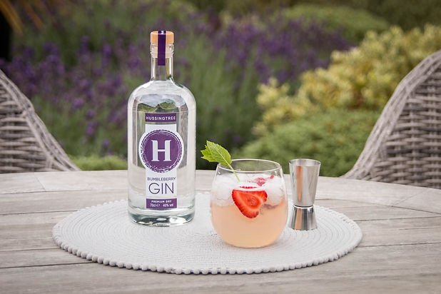 Hussingtree Bumbleberry Gin - Strawberry