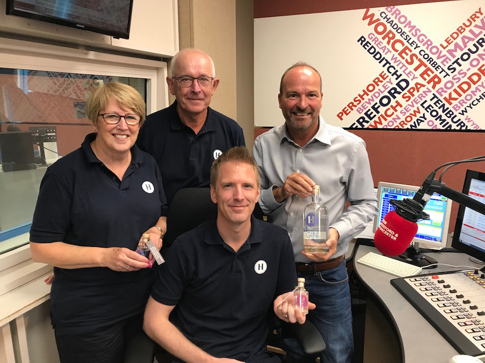 BBC Hereford and Worcester Hussingtree Gin Malcolm Boyden