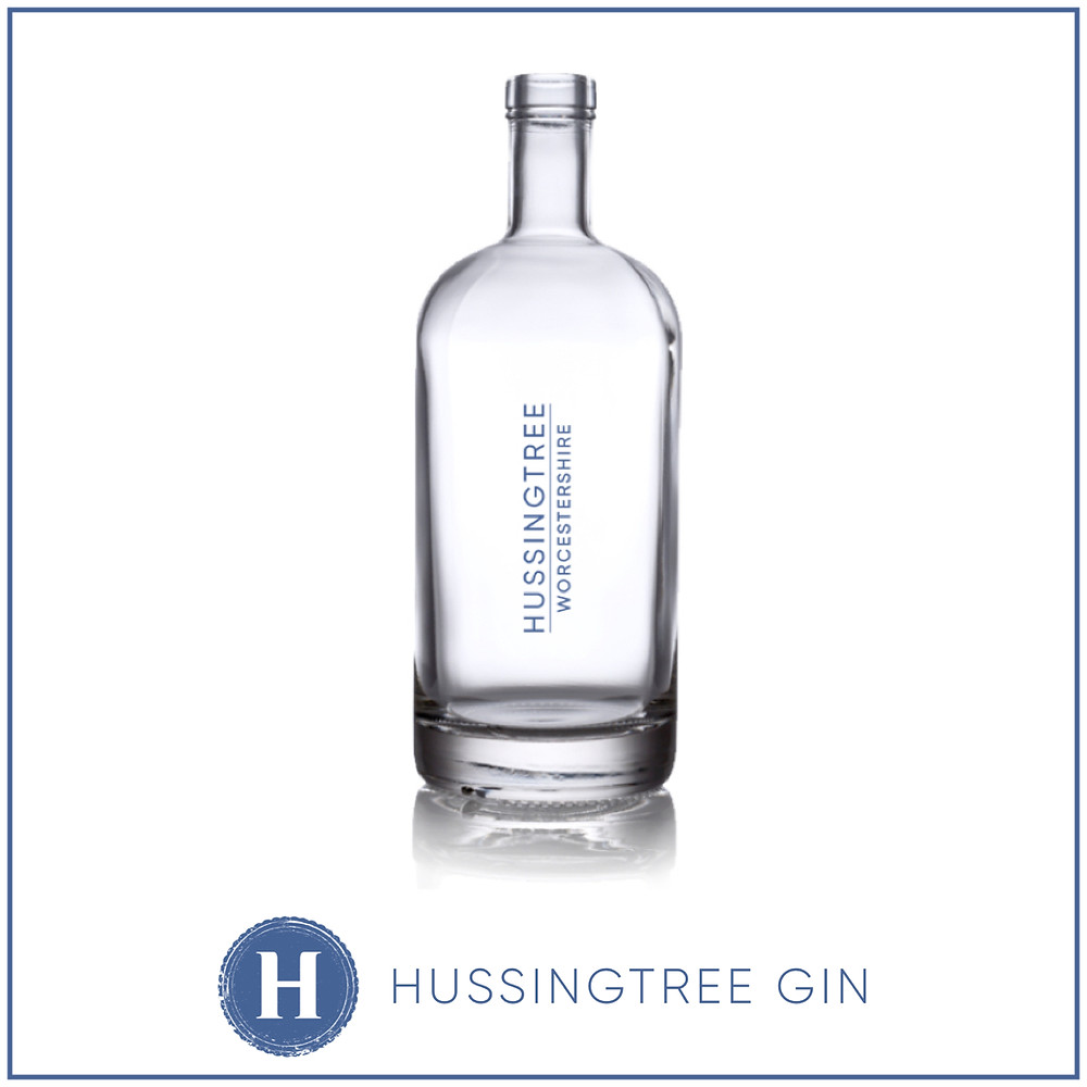 Hussingtree Gin Worcestershire Distilled Gin Bottle