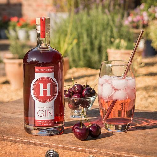 Hussingtree Cherry & Vanilla Gin - squar