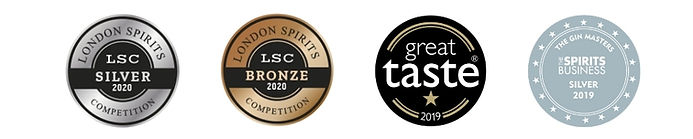 Hussingtree Gin - Latest Awards 2019-20.