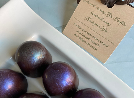 Gin truffles - Three star award