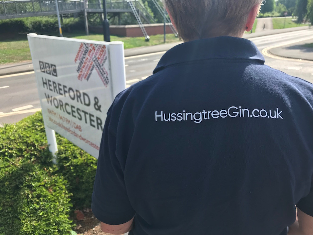 Hussingtree Gin BBC Radio Hereford and Worcester