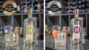Hussingtree Gin Wins Silver and Bronze at London Spirits Competition