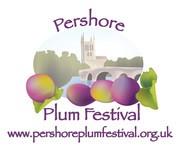 Pershore Plum Festival Plum Alley Logo