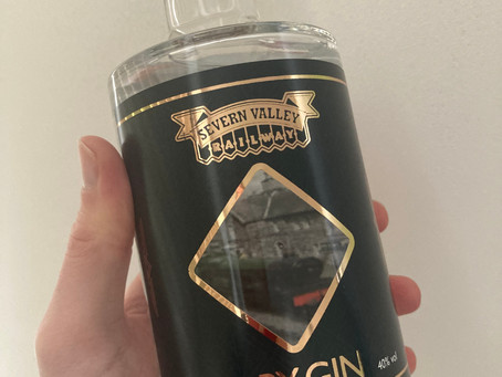 Bespoke gin for Severn Valley Railway