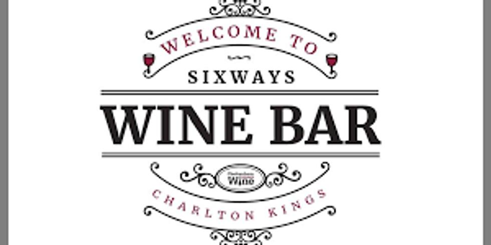 Gin Tasting at Sixways Wine Bar, Cheltenham