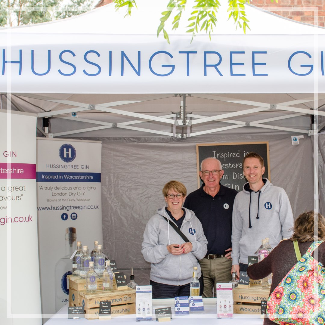 Hussingtree Gin Worcestershire Event 1