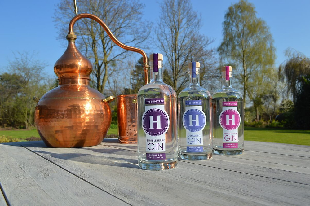 Hussingtree Gin New Label Design