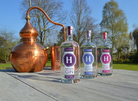 Gin label design - An evolution