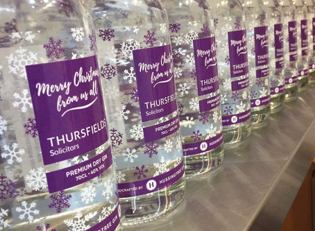 Christmas corporate gin gifts