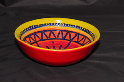 8 inch carved bowl