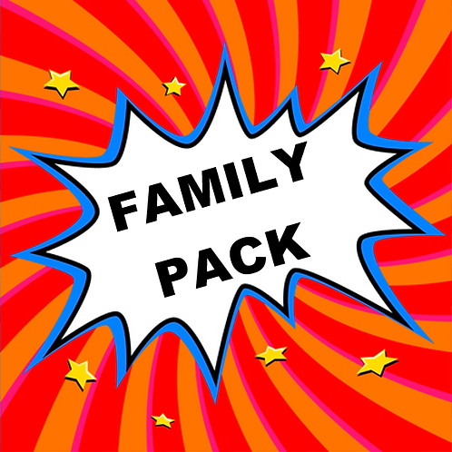 Family 4-Pack Weekend