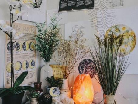 ¿Cómo crear tu altar o espacio sagrado?