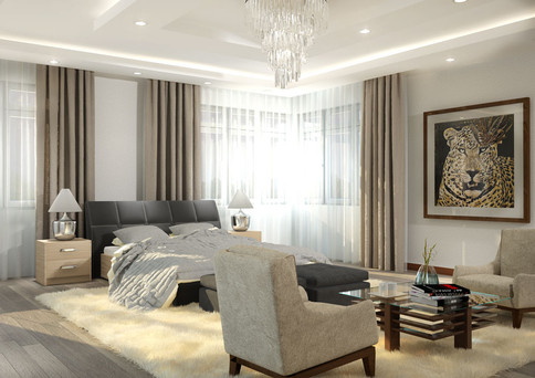 Master Bedroom Render